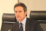 Napoli-09 agosto 2011- Regione Campania conferenza stampa del Presidente Stefano Caldoro e dell'assessore Sommese.