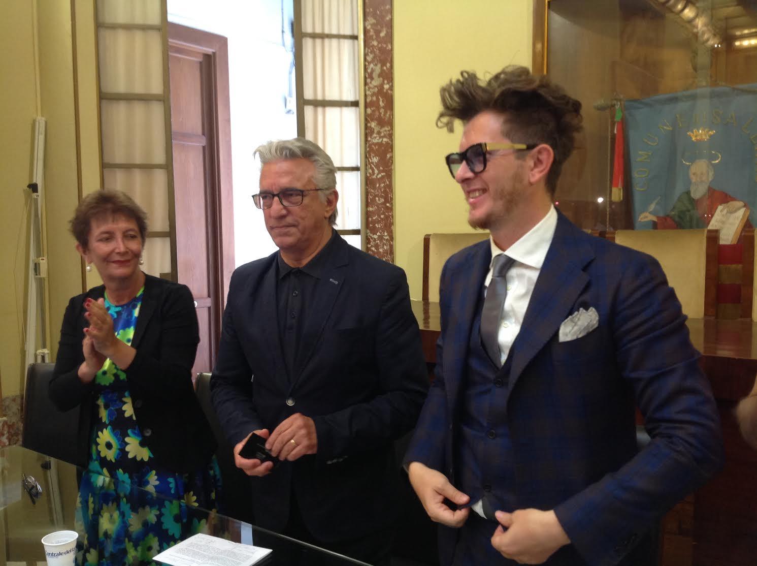 Salerno presentate le tre nuove auto firmate umberto for Liceo umberto palermo