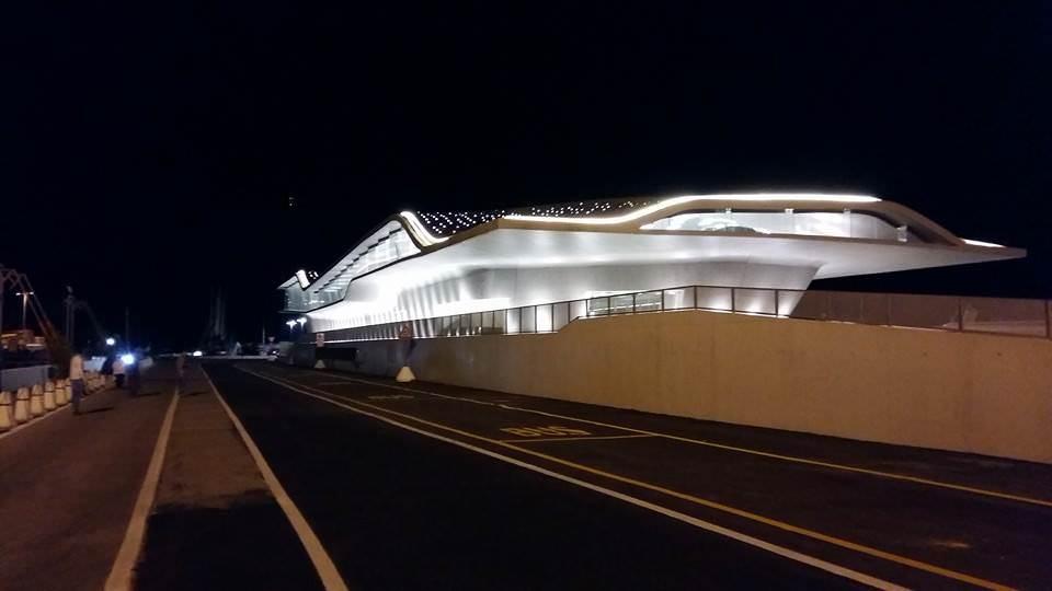 De Luca inaugura a Salerno la Stazione Marittima