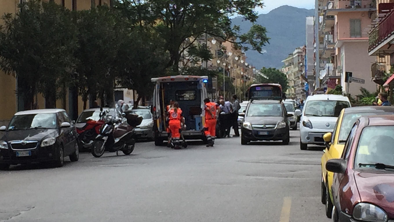 Salerno Incidente Stradale In Via Lungomare Colombo Conducente