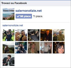 SalernoNotizie su Facebook, diventa fan!